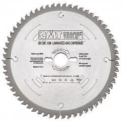 Серия 281 пилы по ЛДСП с углом атаки зуба -3° CMT Дисковые пилы Инструмент