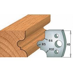 Комплекты ножей и ограничителей серии 690/691 #012 CMT Ножи и ограничители для фрез 40 мм Ножи