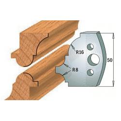 Комплекты ножей и ограничителей серии 690/691 #541 CMT Ножи и ограничители для фрез 50 мм Ножи